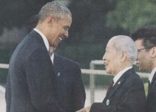 obama and tsuboi-hiroshima2016